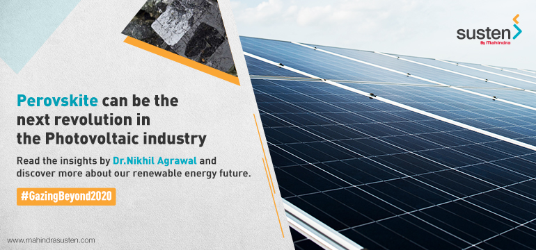 Perovskite Solar Cells in Post 2020 Era