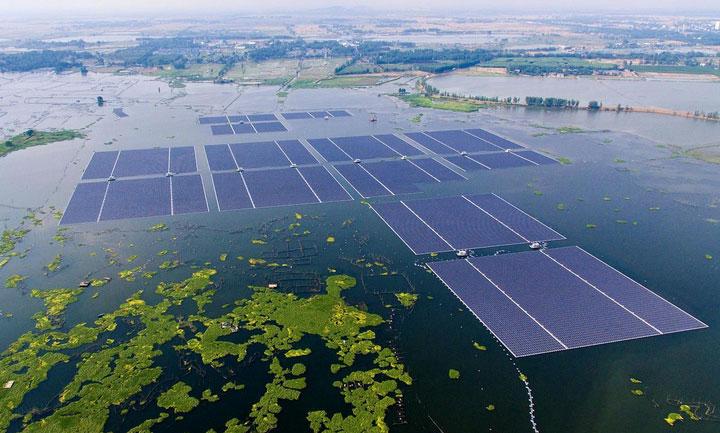 Floating Solar - Mahindra Susten