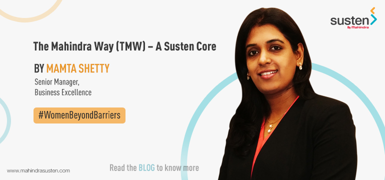 The Mahindra Way (TMW) – A Susten