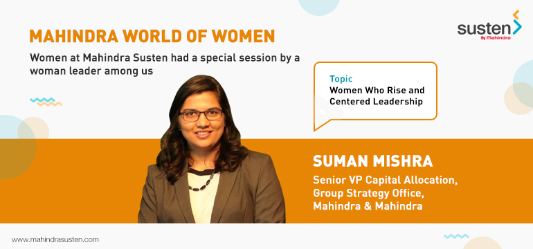 Mahindra World of Women – A Special Session on Women Leaders at Mahindra