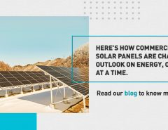 Here's how Commercial Solar Panels are changing your outlook on energy, one roof at a time.