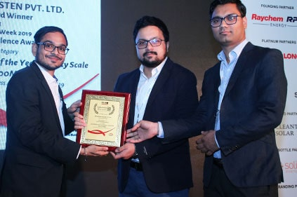 O&M Service Provider of the Year – India Solar Week 2017