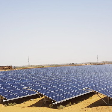 Utility Scale Solar - Mahindra Susten