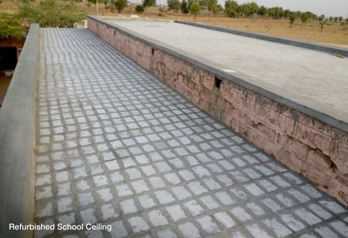 Refurbished School Ceiling - Mahindra Susten