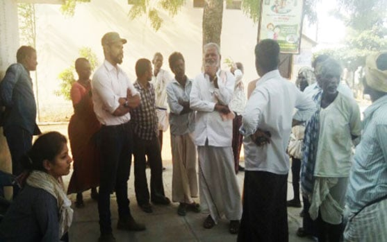 Interactions with Villlage Community, Mahaboobnagar - Mahindra Susten